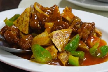Fried Pork In Sweet And Sour Sauce