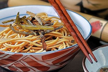 Noodles With Oil And Shallots
