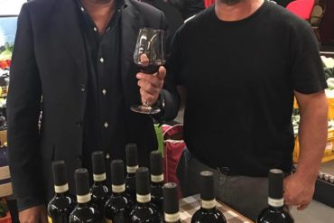 I went to the agri-food market in Milan and I tasted this really interesting Dolcetto di Ovada