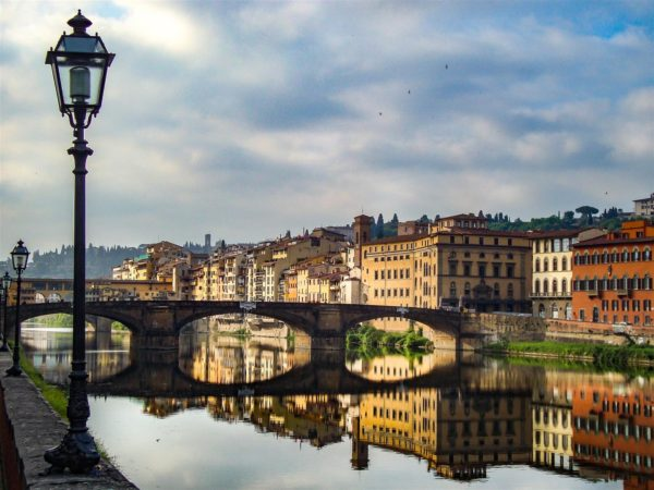 Florence Bridge Tuscany